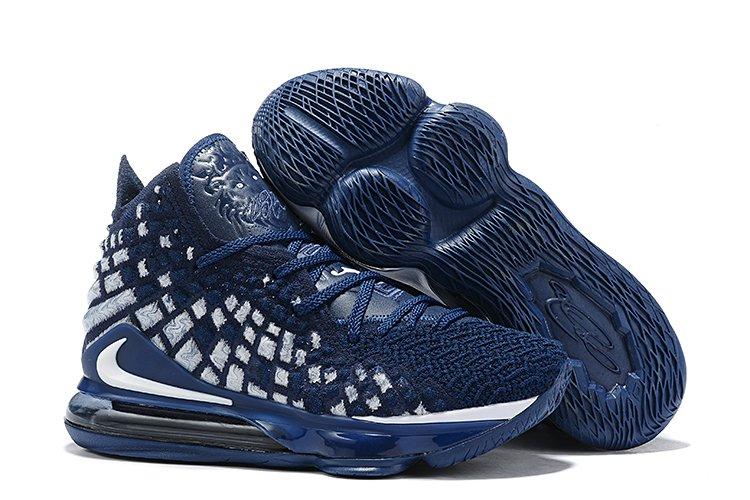 Buy Nike Lebron 17 XVII Navy Blue Basketball Sneakers Online