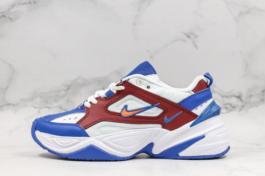 Buy Nike M2K Tekno White Team Red Deep Royal Blue Bright Crimson