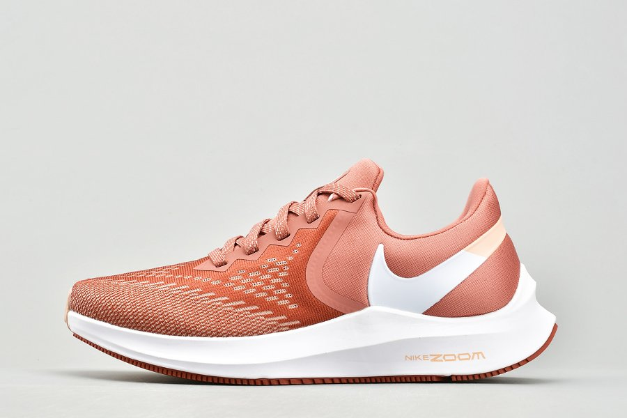 Buy Nike Wmns Zoom Winflo 6 Light Redwood White Running Shoes