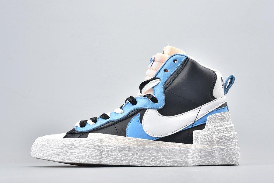 Buy Now sacai x Nike Blazer Mid Hybrid Black Blue BV0072-001 Online