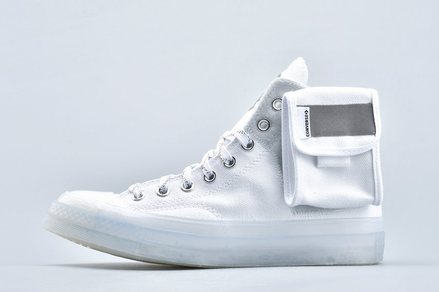 Lay Zhang x Converse Chuck 70 High Top White Tint Blue On Sale