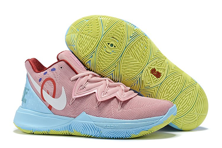 Mens Nike Kyrie 5 PE Pink Blue For Sale