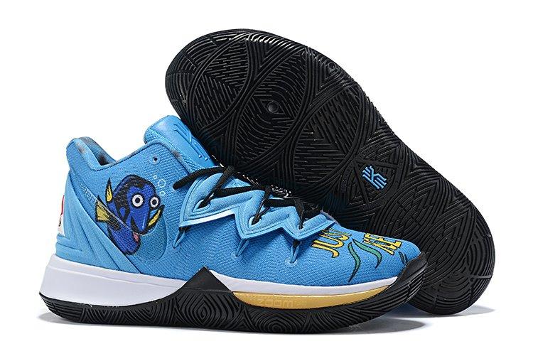 New Nike Kyrie 5 PE Blue Black On Sale