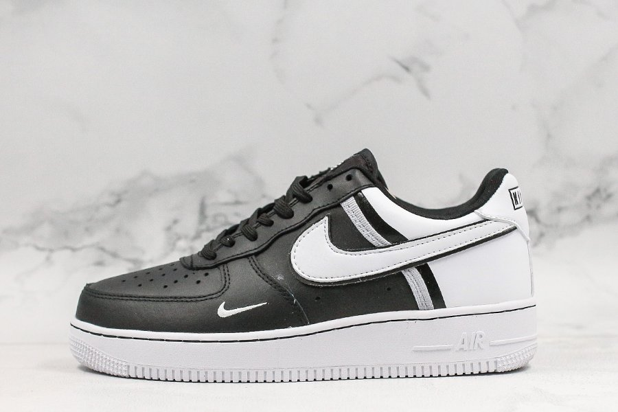 New Styled Nike Air Force 1 07 Black White CI0061-001 For Sale