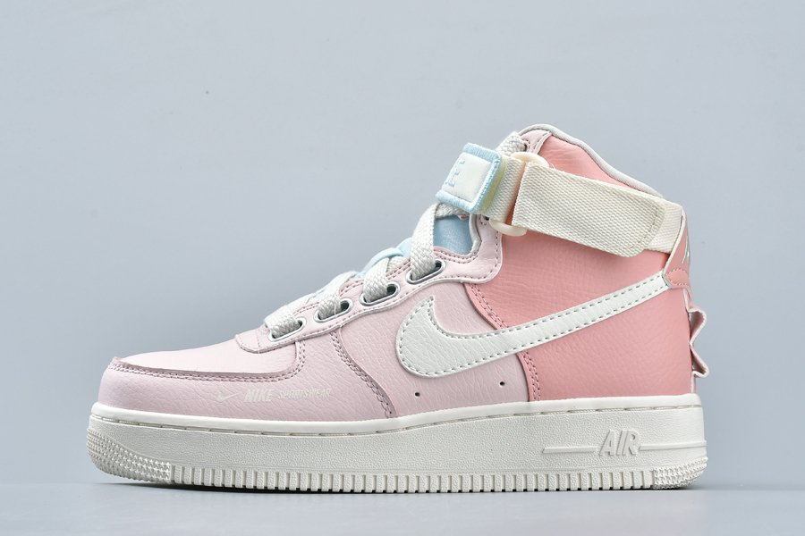 Nike Air Force 1 High Utility Force is Female Echo Pink Sail For Sale