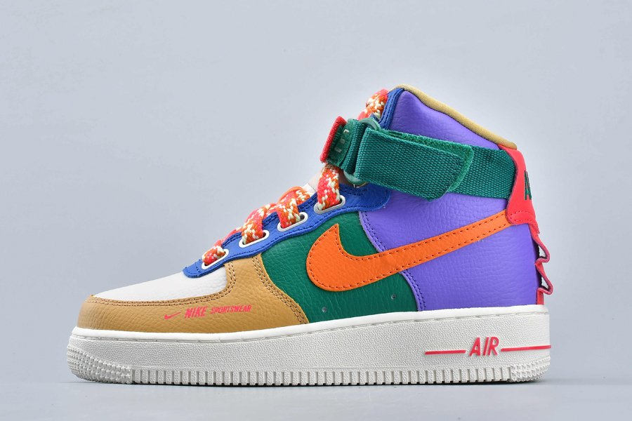 Nike Air Force 1 High Utility Force is Female Multi-Color CQ4810-046 On Sale