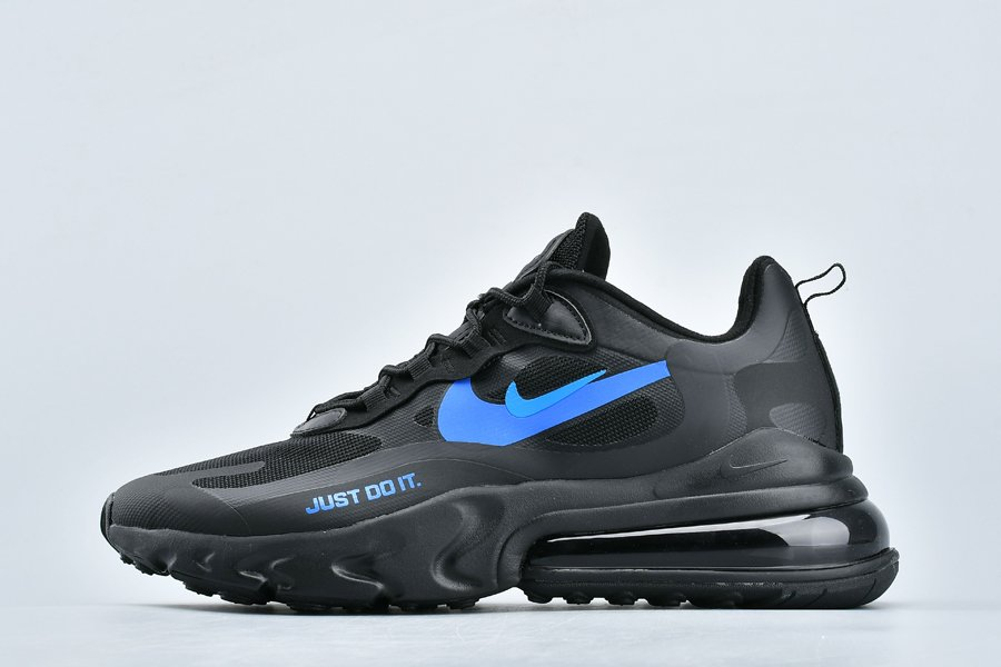 Nike Air Max 270 React Just Do It Black Blue CT2203-001 To Buy