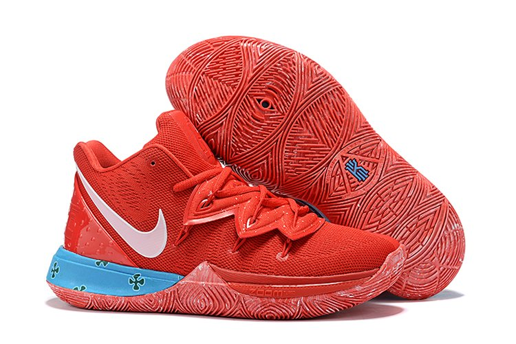 Nike Kyrie 5 Red Blue Mens Basketball Shoes On Sale