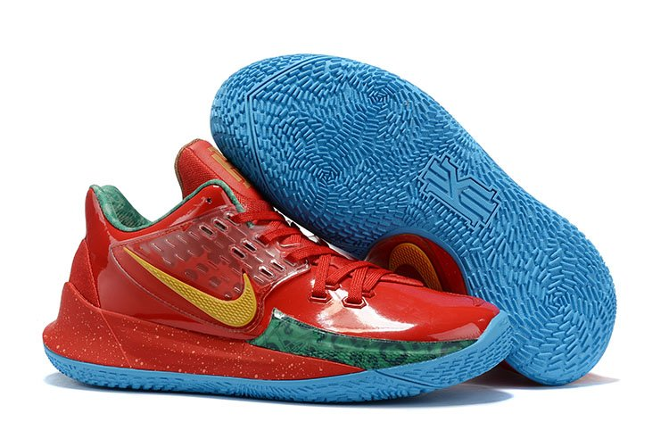 Nike Kyrie Low 2 Mr. Krabs Red Gold Green CJ6953-600 For Sale