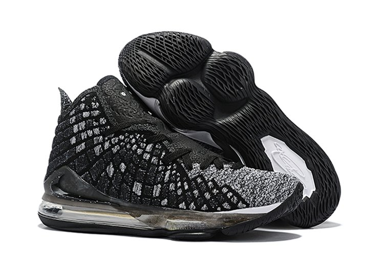 Nike Lebron 17 Oreo Black Grey For Sale