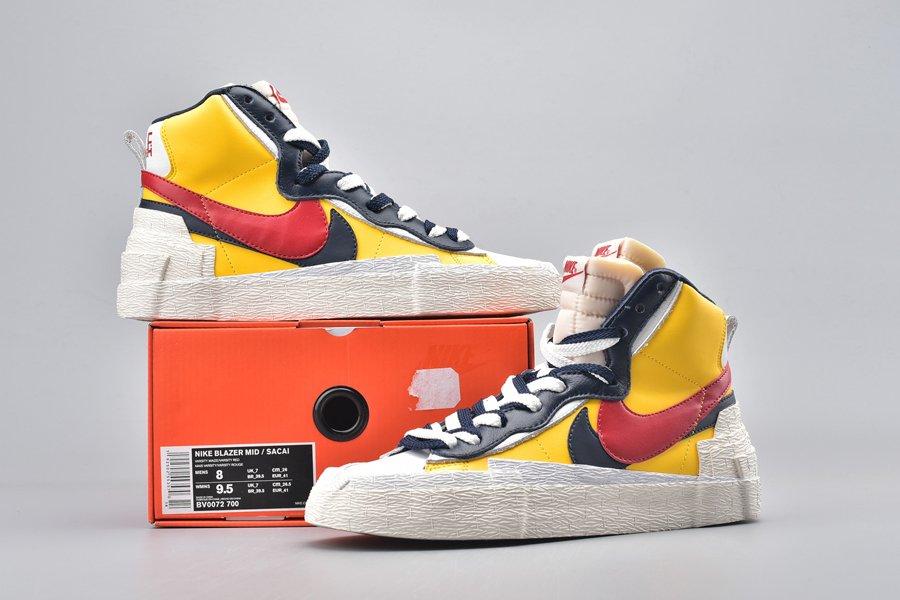 Buy Sacai x Nike Blazer Mid Varsity Maize