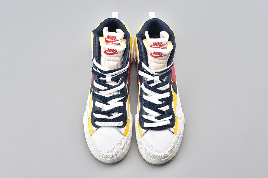 Sacai x Nike Blazer Mid Varsity Maize Top