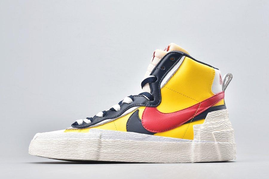 Sacai x Nike Blazer Mid Varsity Maize BV0072-700 For Sale