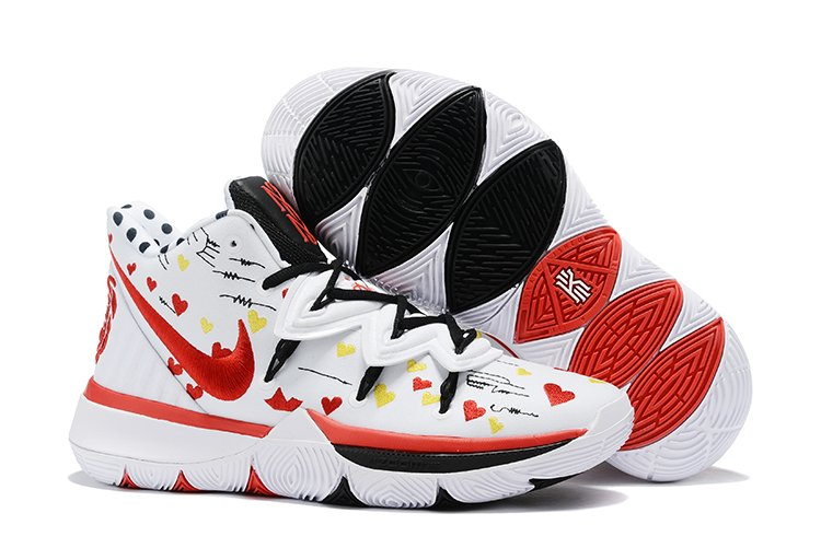 Sneaker Room x Nike Kyrie 5 I Love You Mom White Red On Sale