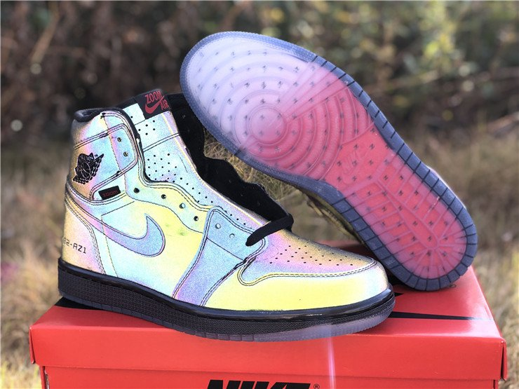 Air Jordan 1 High Zoom R2T Fearless Reflective BV0006-900 For Sale