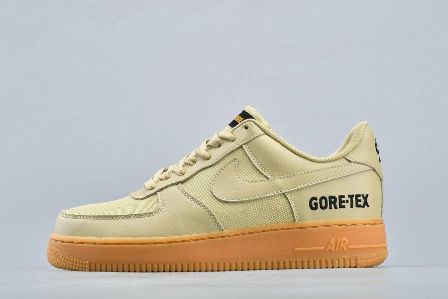 Buy GORE-TEX Nike Air Force 1 Team Gold Khaki-Black Online