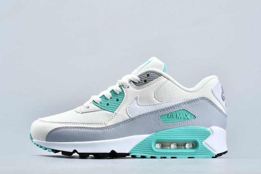 Buy Ladies Nike Air Max 90 Emerald Green 325213-140 Online