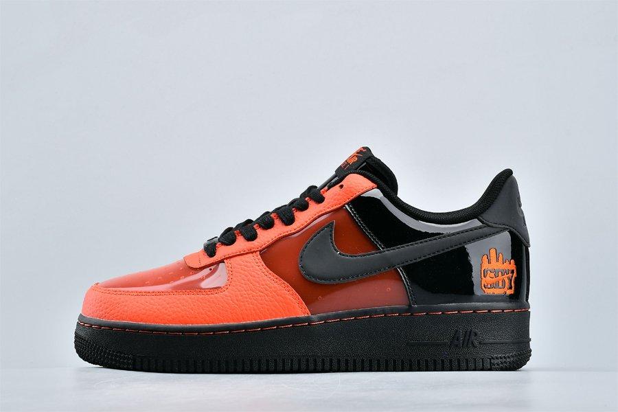 Buy Nike Air Force 1 Shibuya Halloween Black Orange CT1251-006 Online
