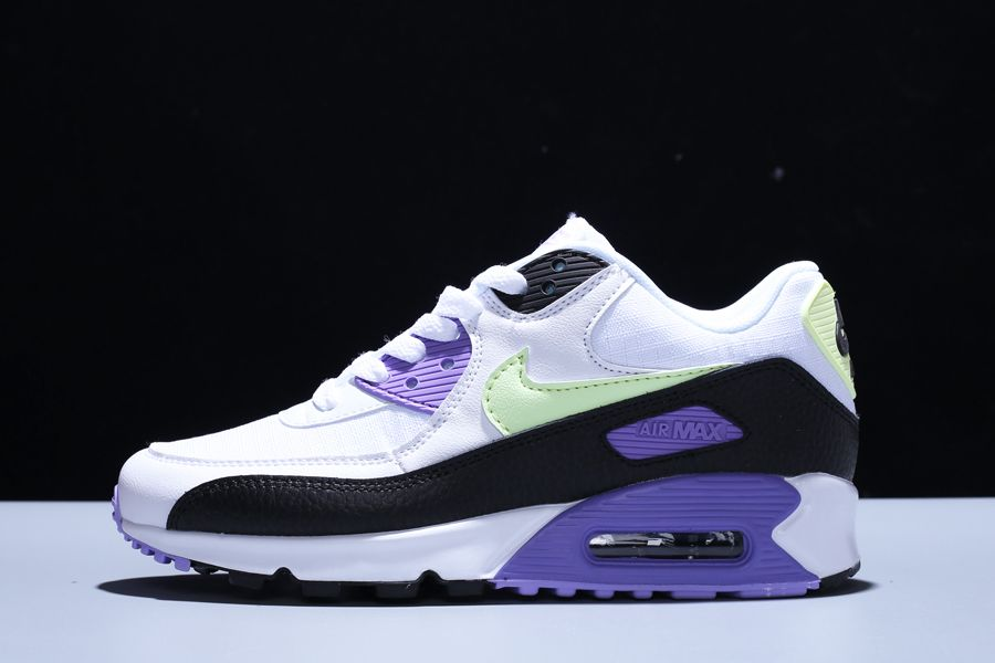 New Nike WMNS Air Max 90 Barely Volt Lavender For Sale