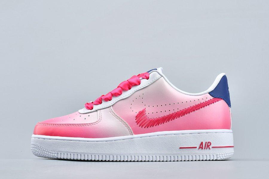 Nike Air Force 1 Low Kay Yow White Pink Foam Regency Purple Vivid Pink For Sale