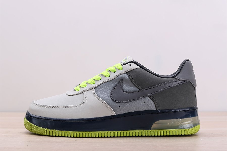 Nike Air Force 1 Supreme Air Max 95 Neutral Grey Anthracite-Neon Yellow For Sale