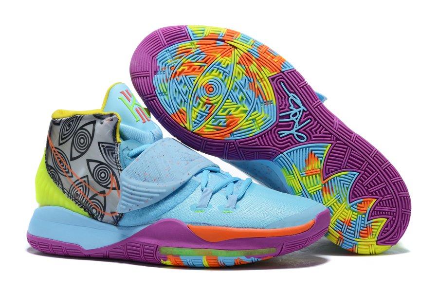 Nike Kyrie 6 Pre Heat Miami Aqua Blue Purple CN9839-404 On Sale