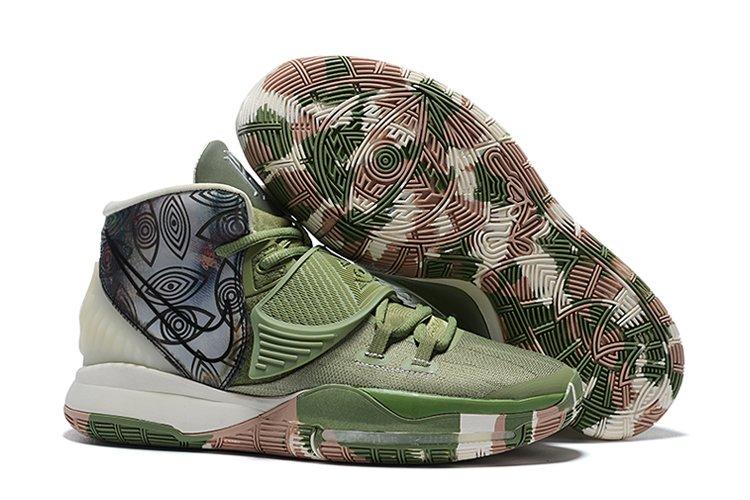 Nike Kyrie 6 Pre-Heat Shanghai Green CQ7634-303 For Sale