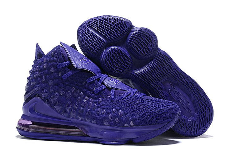 Nike LeBron 17 Bron 2K Purple BQ3177-500 For Sale
