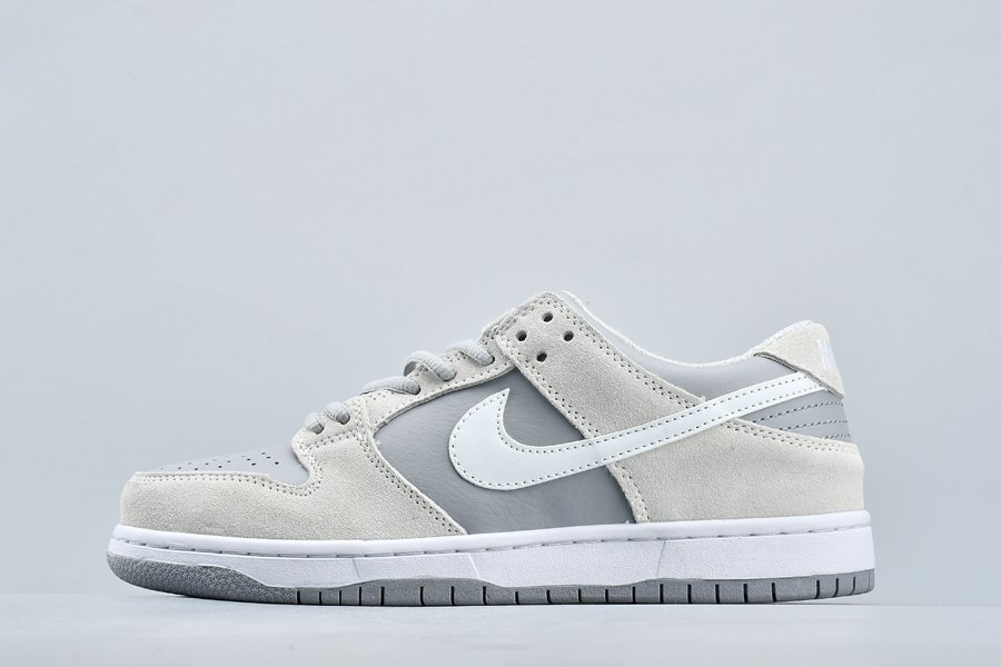 Nike SB Dunk Low Wolf Grey Summit White-Clear 854866-011 For Sale