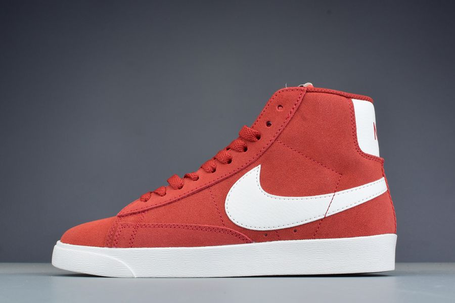 Nike Wmns Blazer Mid Vintage Suede Speed Red Sail For Sale