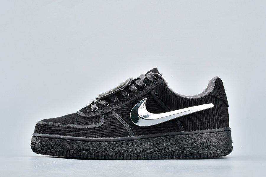 Travis Scott x Nike Air Force 1 Low Black 3M Reflective To Buy