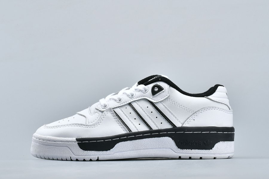 adidas Originals Rivalry Low White Black EE4657 On Sale