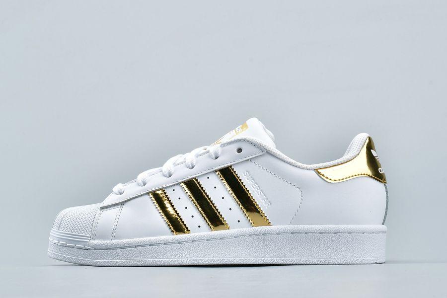 adidas Originals Superstar White Gold Scarpe Online Economiche