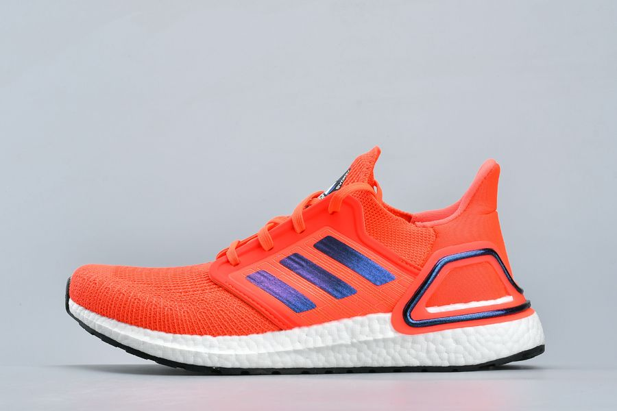 adidas Ultra Boost 2020 ISS US National Lab Solar Red FV8449 For Sale