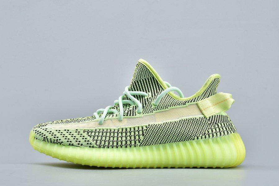 adidas Yeezy Boost 350 V2 Yeezreel Non-Reflective Electric Green On Sale