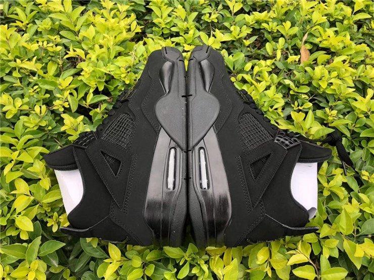 2020 Air Jordan 4 Black Cat CU1110-010 Side