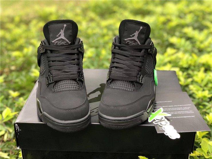 2020 Air Jordan 4 Black Cat Toe