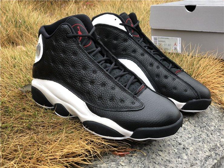 Air Jordan 13 Reverse He Got Game Black White-Gym Red To Buy
