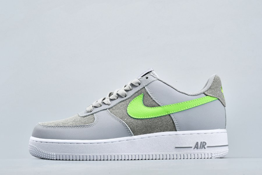 Buy Nike Air Force 1 Low Denim Pack Wolf Grey Action Green-White