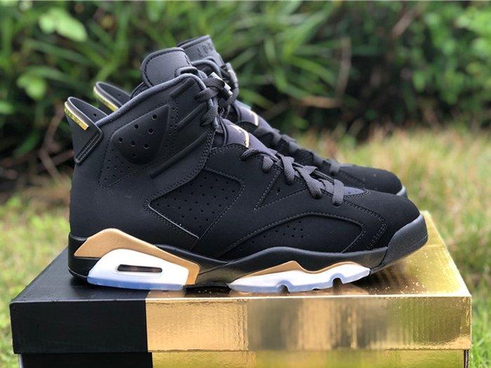 Buy Online Air Jordan 6 DMP 2020 Black Gold