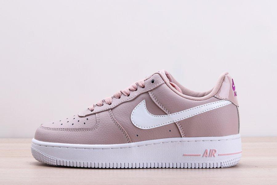 Nike Womens Air Force 1 Plum Chalk White-Purple For Sale