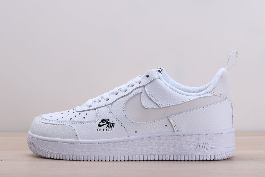White Nike Air Force 1 Low Come With Reflective Swooshes