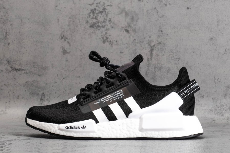 adidas NMD V2 Black and White FV9021 For Sale