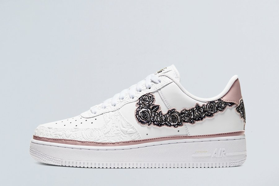 2019 Nike Air Force 1 Doernbecher White Stone Mauve-Black To Buy