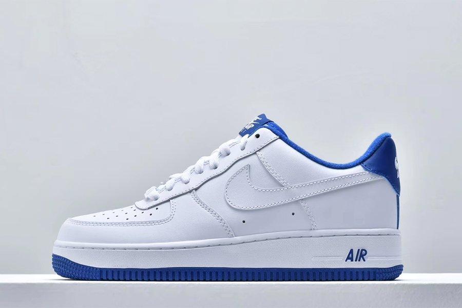 Nike Air Force 1 07 White Deep Royal CD0884-102 To Buy