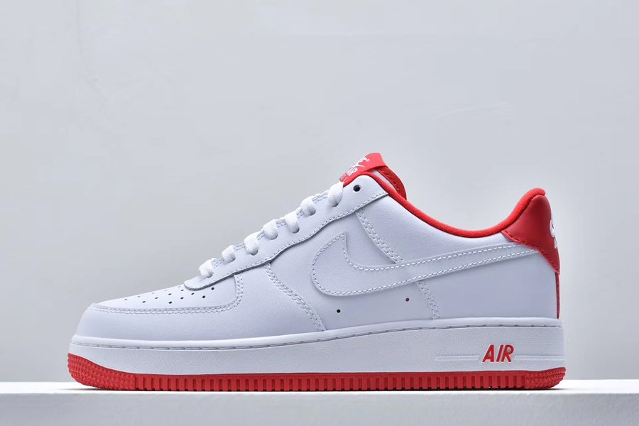 Nike Air Force 1 07 White University Red CD0884-101 To Buy