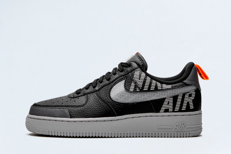 Nike Air Force 1 Low Under Construction Black BQ4421-002 On Sale