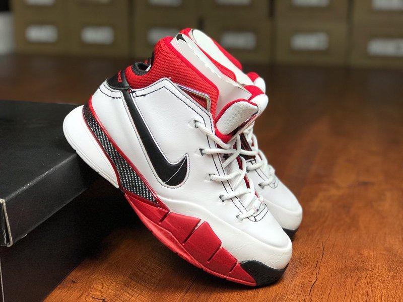 Nike Kobe 1 Protro All-Star White Black-Varsity Red For Sale