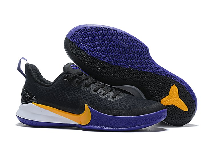Nike Mamba Focus Lakers Black Purple-Amarillo For Sale