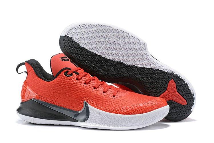 Nike Mamba Focus University Red Black-White On Sale